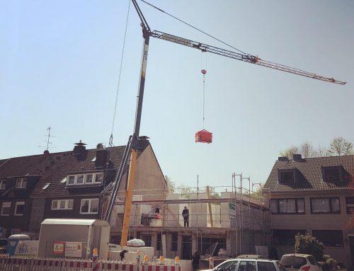 Unsere Baustelle in Düsseldorf