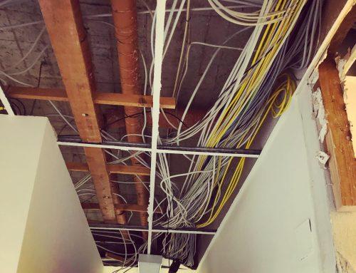 Umbauarbeiten unserer neuen Firmenzentrale